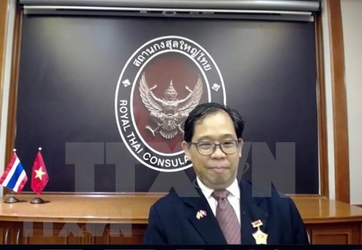 Consul General of Thailand in Ho Chi Minh City Apirat Sugondhabhirom