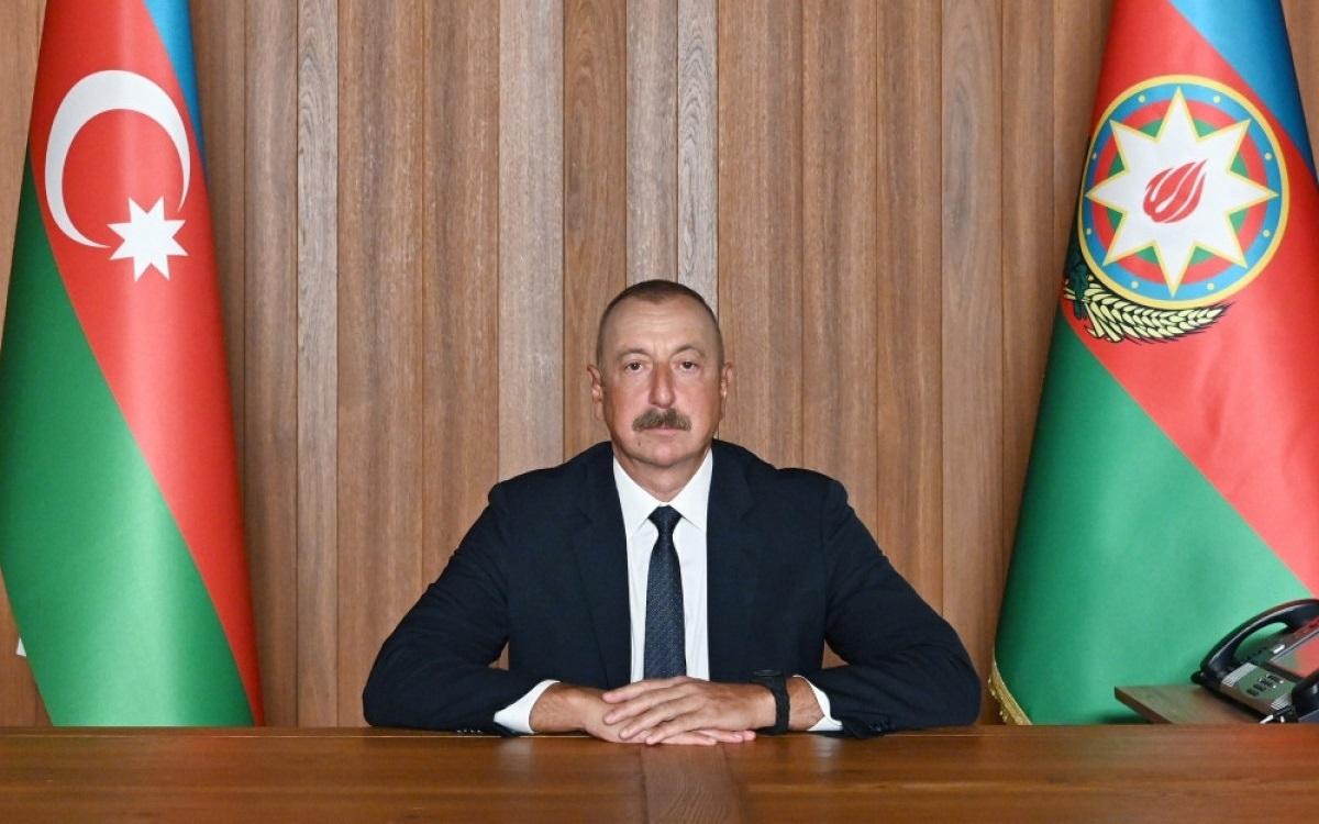 Đương kim Tổng thống Azerbaijan Ilham Aliyev. Ảnh: APA.