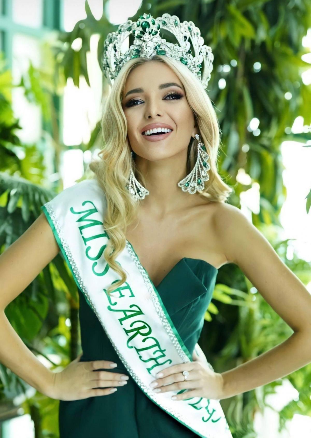 Yulia Pavlikova vừa được bổ nhiệm trở thành Hoa hậu Trái đất Bulgaria 2021. Cô sẽ quốc gia này tham dự cuộc thi Miss Earth 2021 diễn ra cuối năm nay.