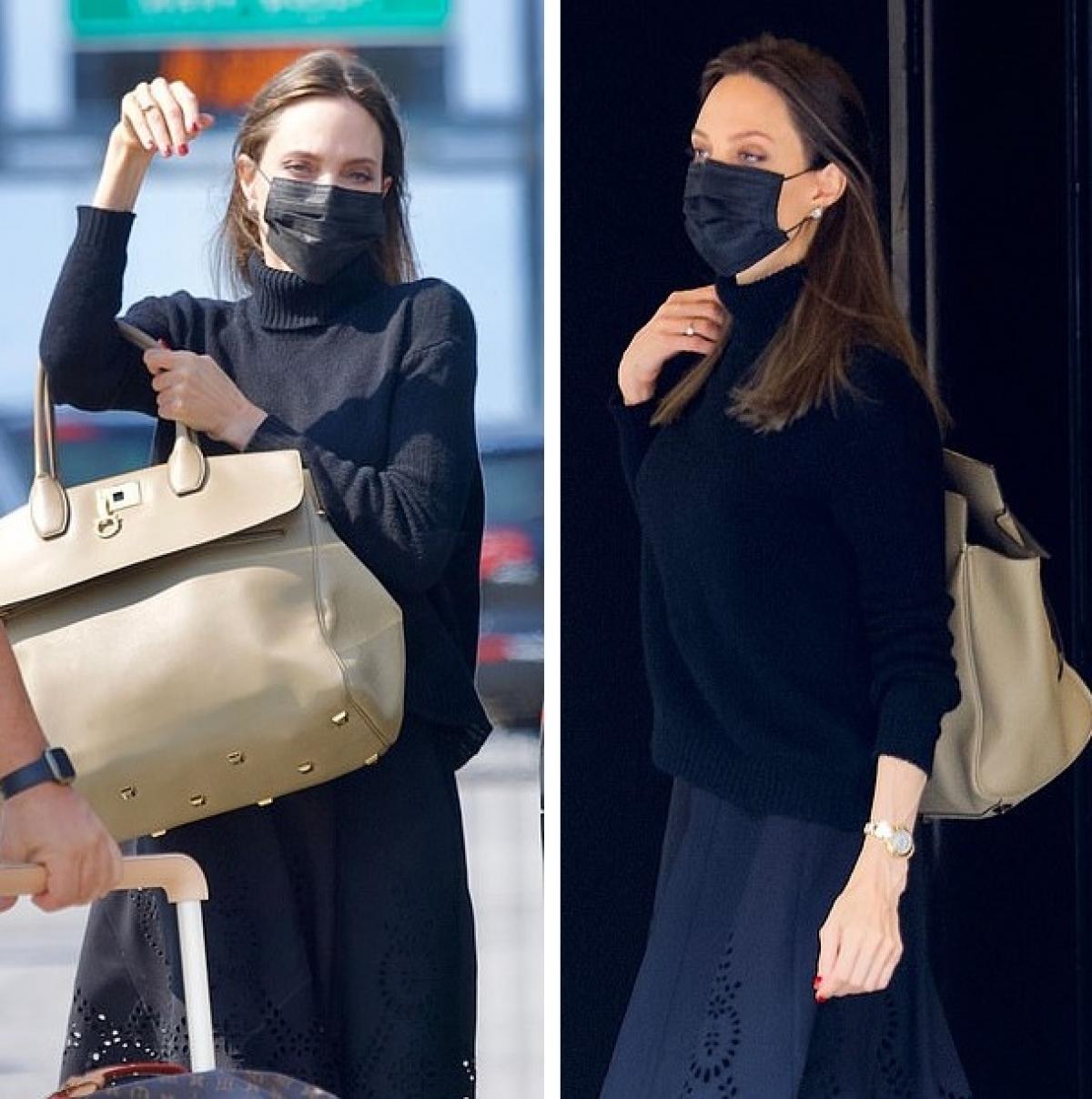Sau khi ly hôn Brad Pitt, Angelina Jolie đang tận hưởng cuộc sống của một bà mẹ đơn thân quyến rũ.