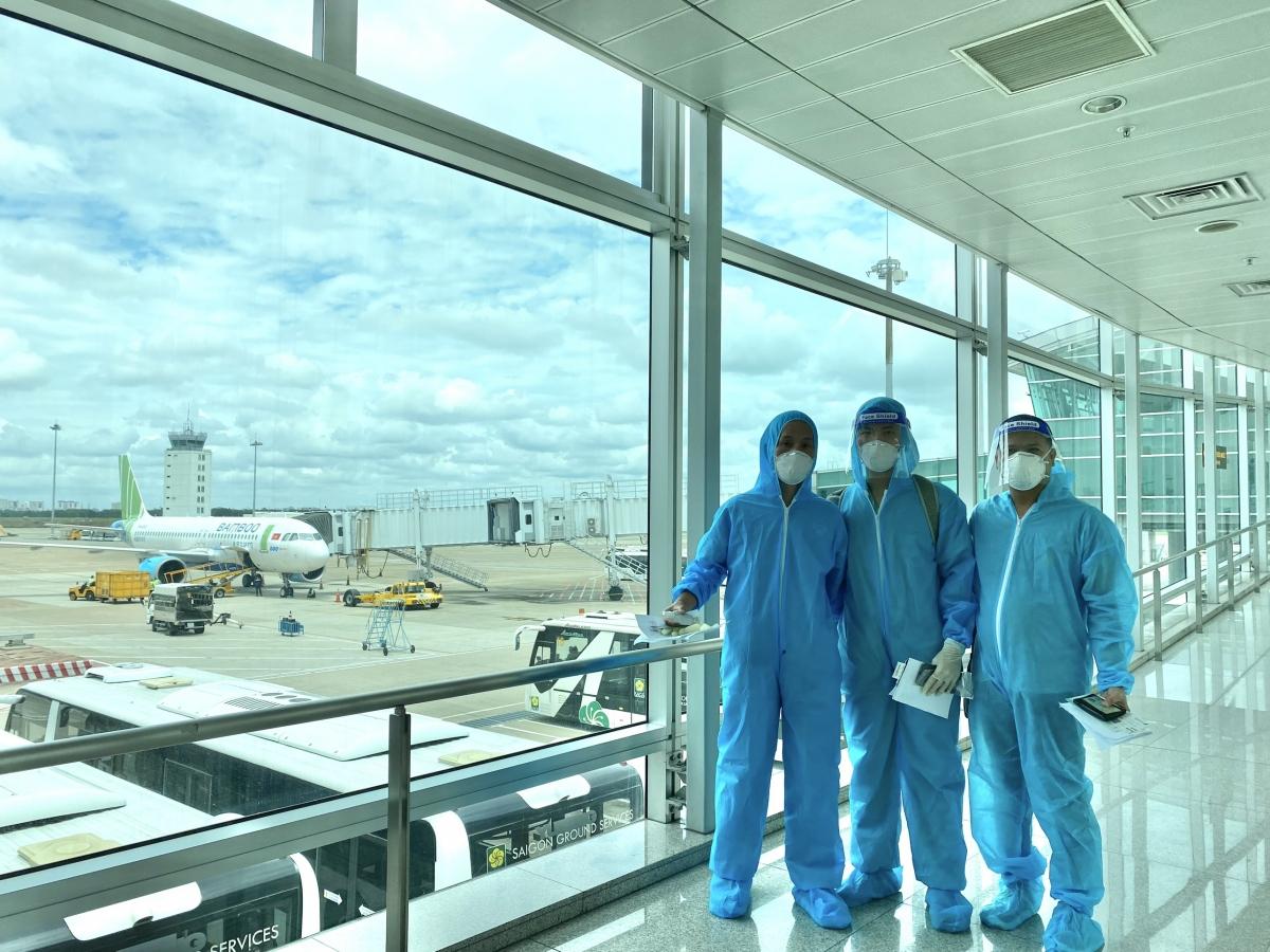 Các cán bộ, thuộc Bệnh viện TW Huế đến TP HCM lần này là những nhân viên y tế có trình độ chuyên môn cao