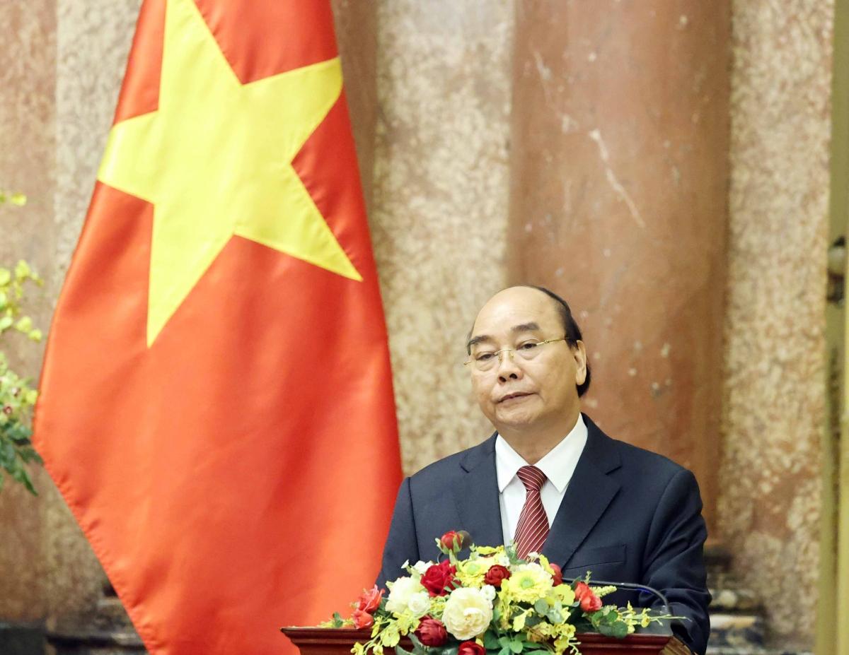 Chủ tịch nước Nguyễn Xuân Phúc.