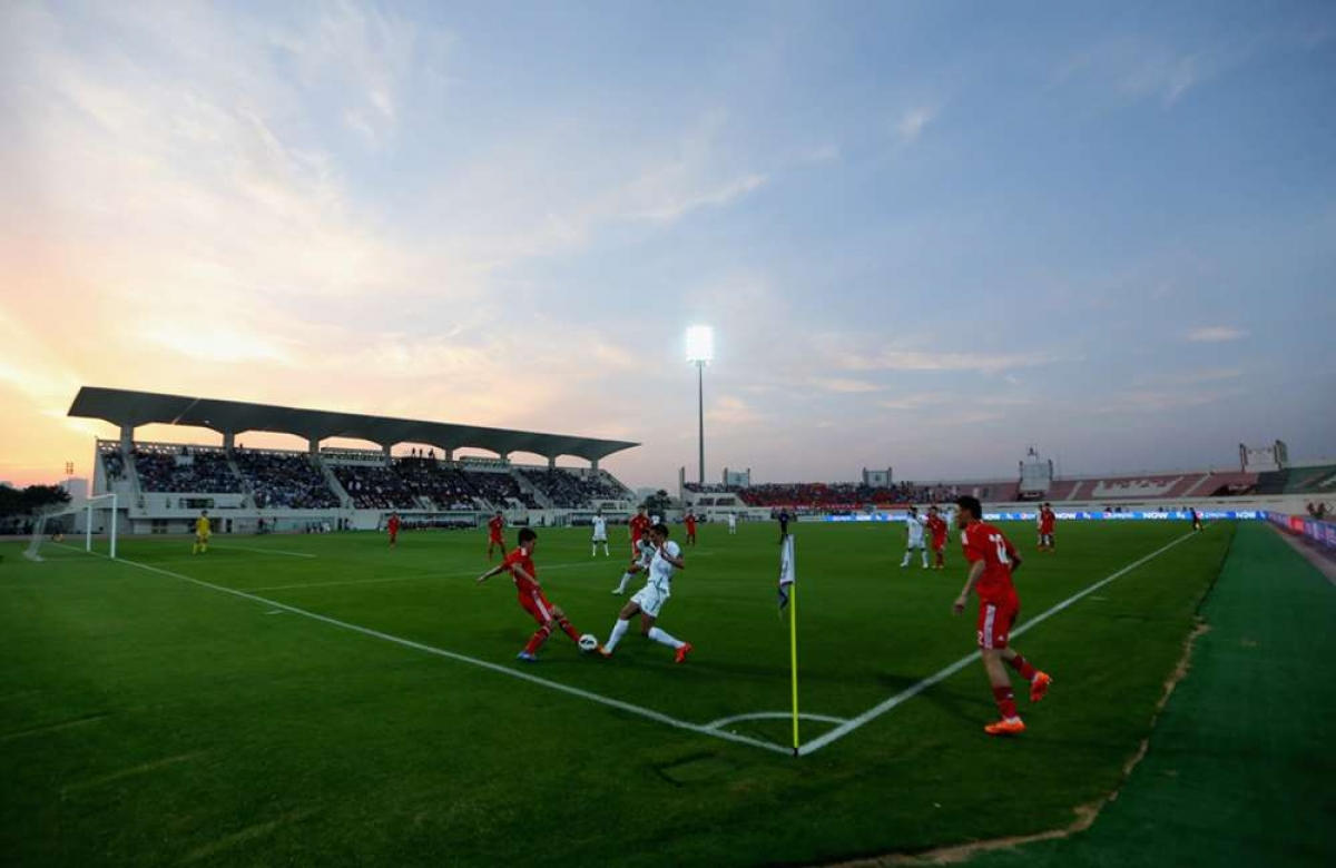 Sân Sharjah từng tổ chức 6 trận đấu ở VCK Asian Cup 2019. (Ảnh: Goal)