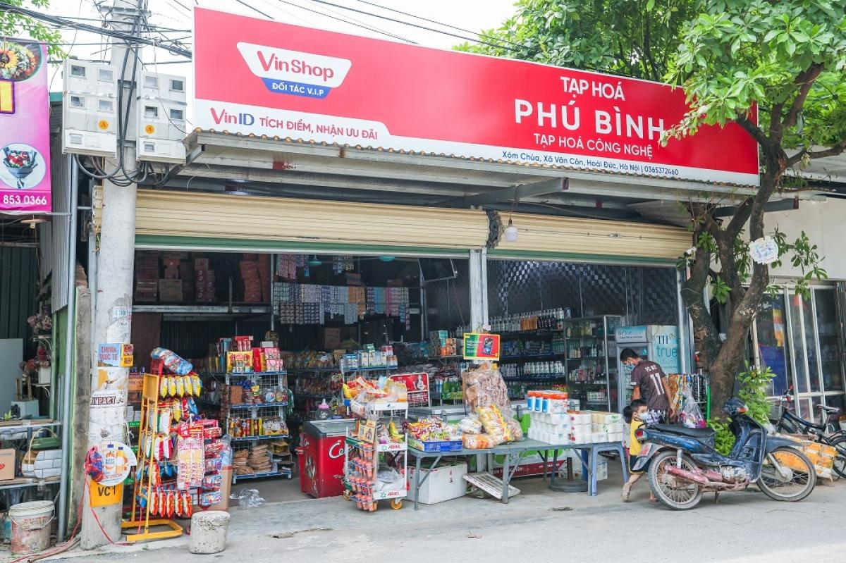 VinShop đã hợp tác với hơn 80.000 cửa hàng tạp hóa tại 14 tỉnh thành phố.