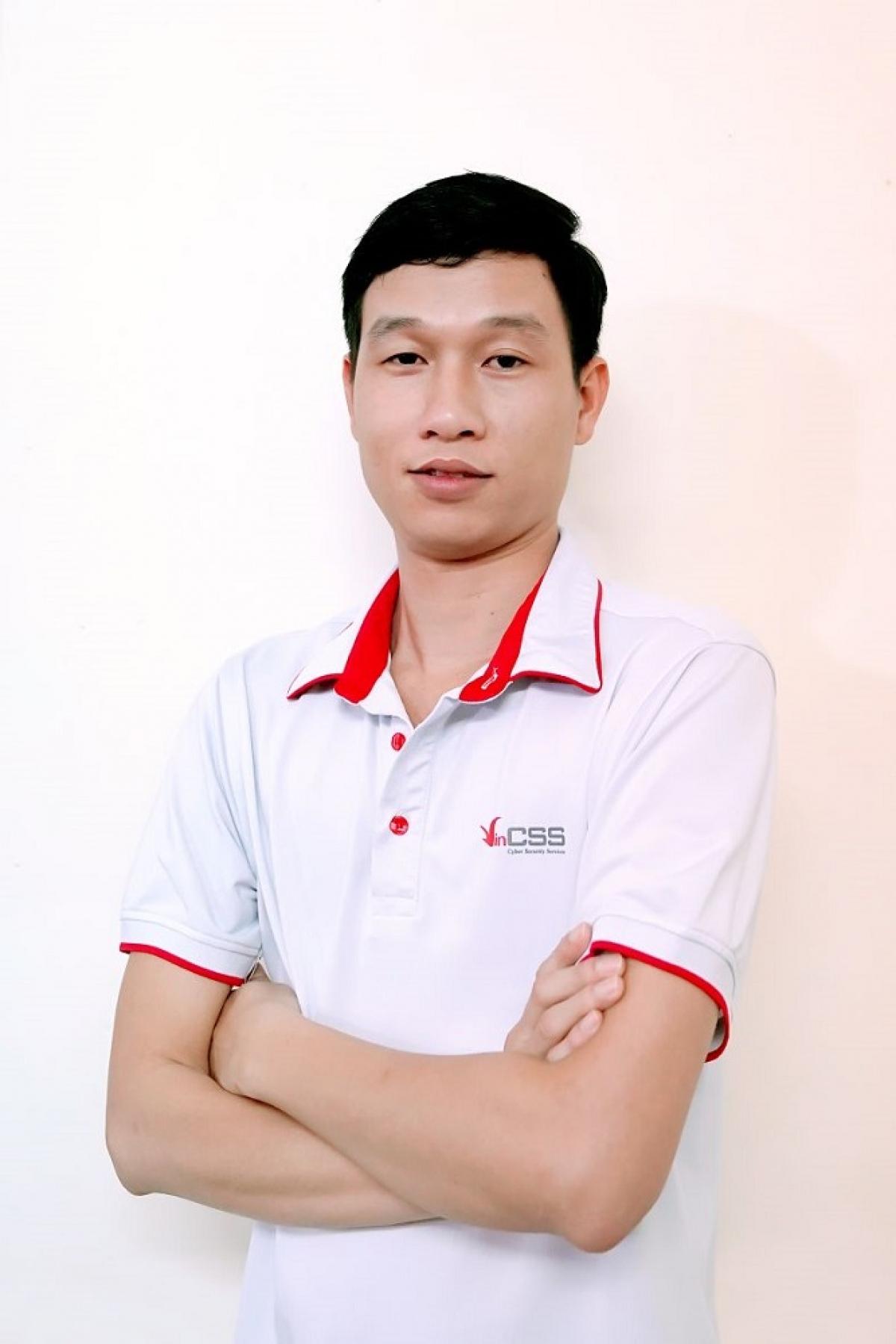 Chuyên gia Trần Văn Khang, Trưởng nhóm Phân tích mã độc, Công ty TNHH Dịch vụ An ninh mạng VinCSS (thuộc Tập đoàn Vingroup)