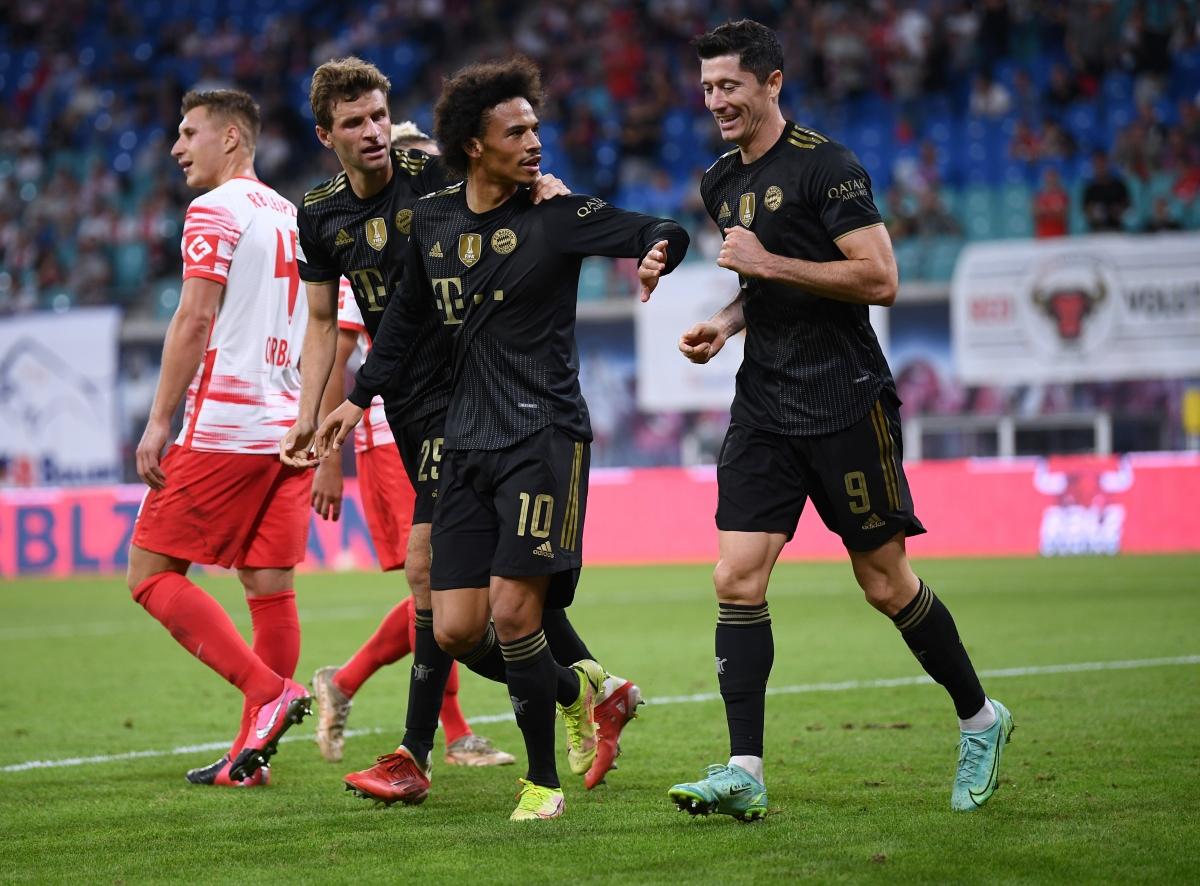 Bayern Munich đè bẹp Leipzig. (Ảnh: Reuters)