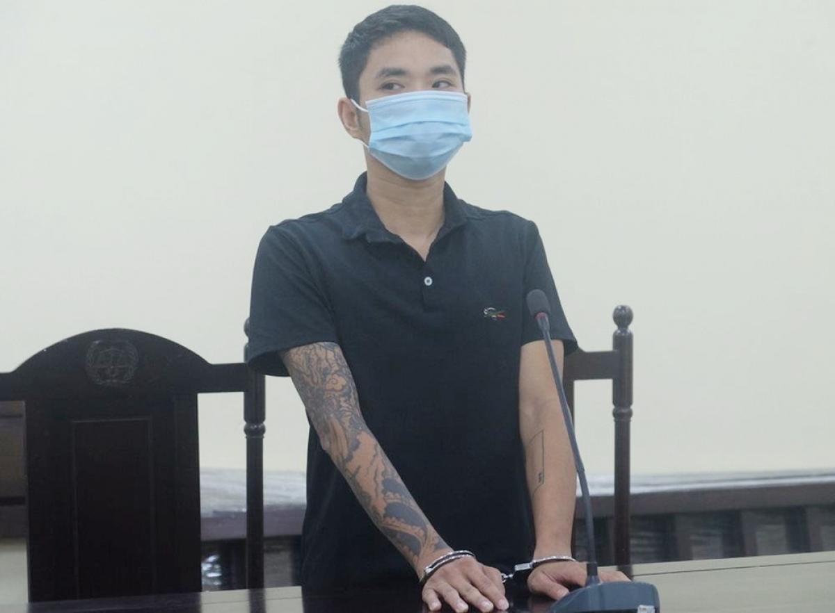 Bị cáo Ninh Văn Đức tại phiên xét xử.