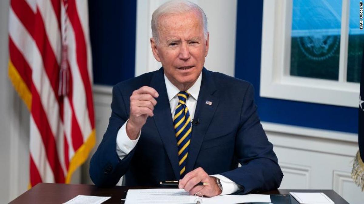 Tổng thống Joe Biden dự kiến sẽ công bố kế hoạch này tại hội nghị COVID-19 trực tuyến do ông chủ trì ở Nhà Trắng ngày 22/9. (Ảnh: CNN)