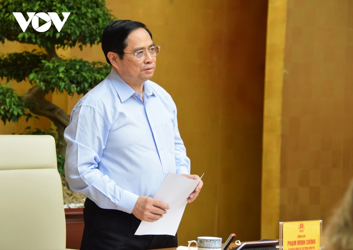 Prime Minister Pham Minh Chinh wishes that the US will continue to support Vietnam in the fight against COVID-19 pandemic.