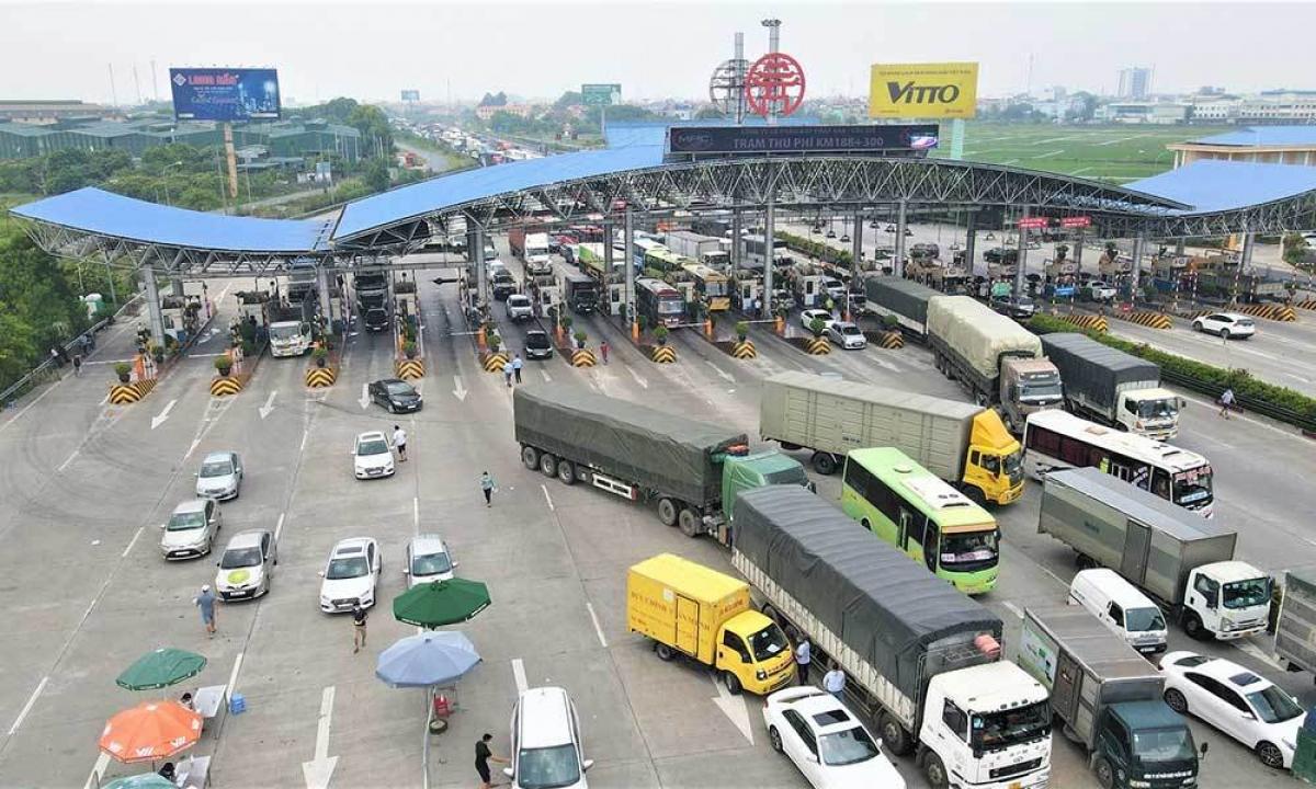 Trạm thu phí BOT cao tốc Pháp Vân-Cầu Giẽ sẽ chính thức thu phí trở lại từ ngày 22/9 sau thời gian tạm dừng để phòng chống dịch COVID-19.