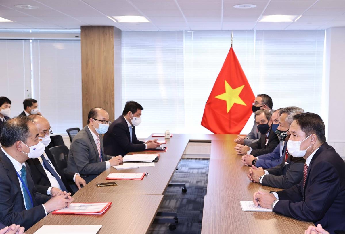 Chủ tịch nước tiếp các đối tác của Delta Offshore - Bac Lieu Energy