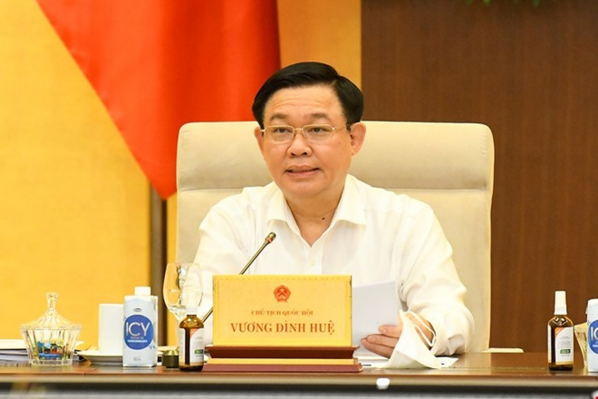 Chủ tịch Quốc hội Vương Đình Huệ sẽ chủ trì Tọa đàm (Ảnh: KT)