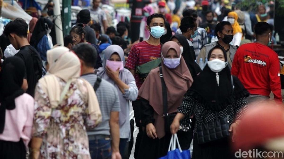 Indonesia cảnh báo làn sóng Covid-19 thứ ba vào cuối năm. (Nguồn: Detik)