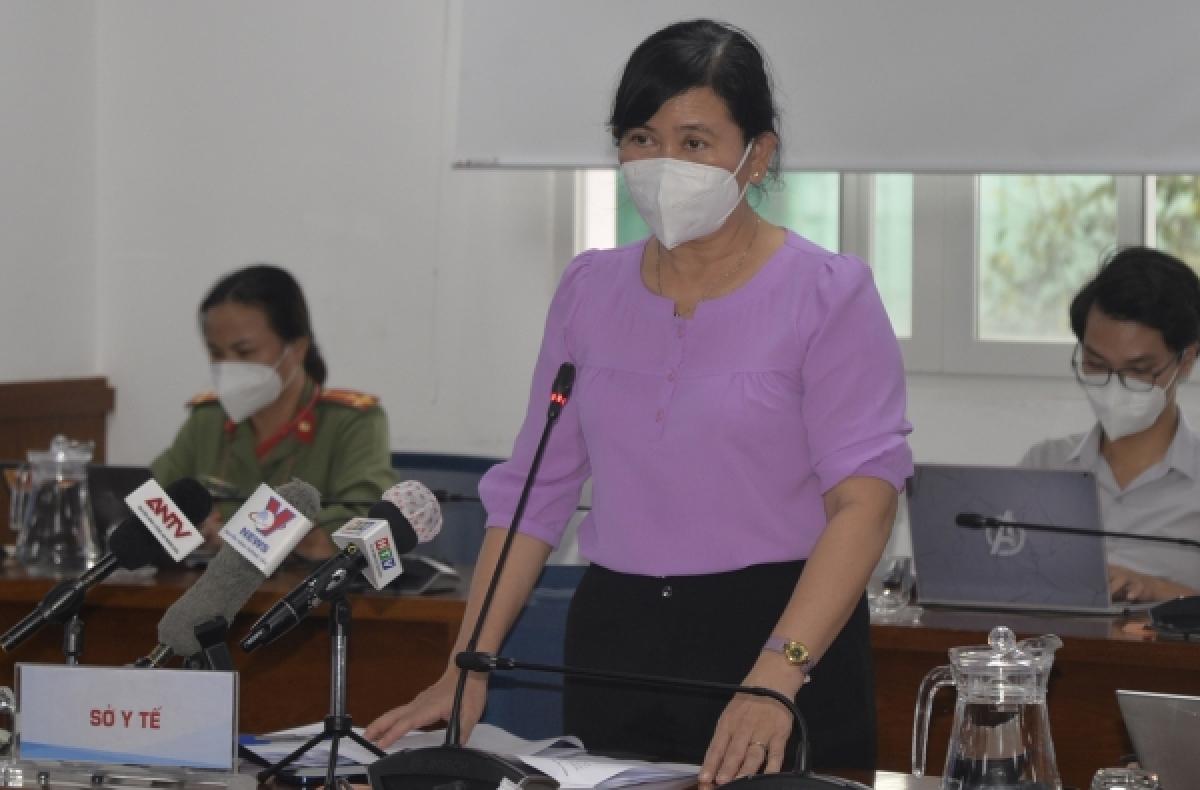 Chánh Văn phòng Sở Y tế TP.HCM Nguyễn Thị Huỳnh Mai.