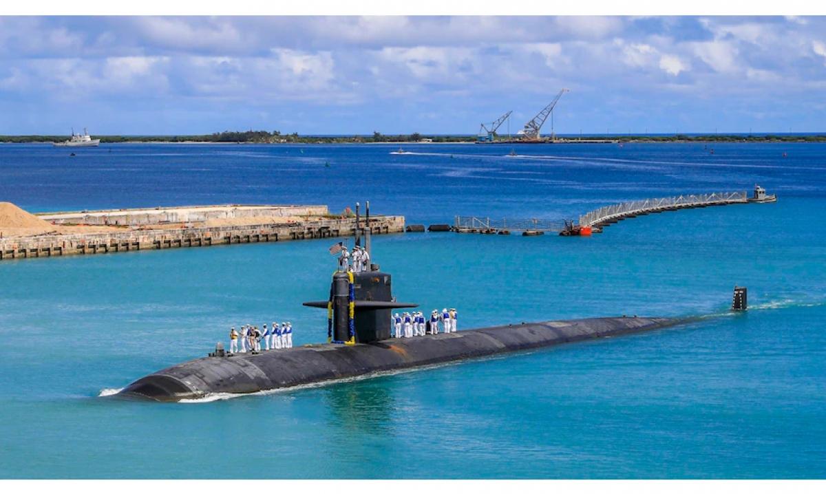 Đại sứ Australia tại ASEAN khẳng định tàu ngầm năng lượng hạt nhân của nước này không mang theo vũ khí hạt nhân. Nguồn: Hải quân Australia