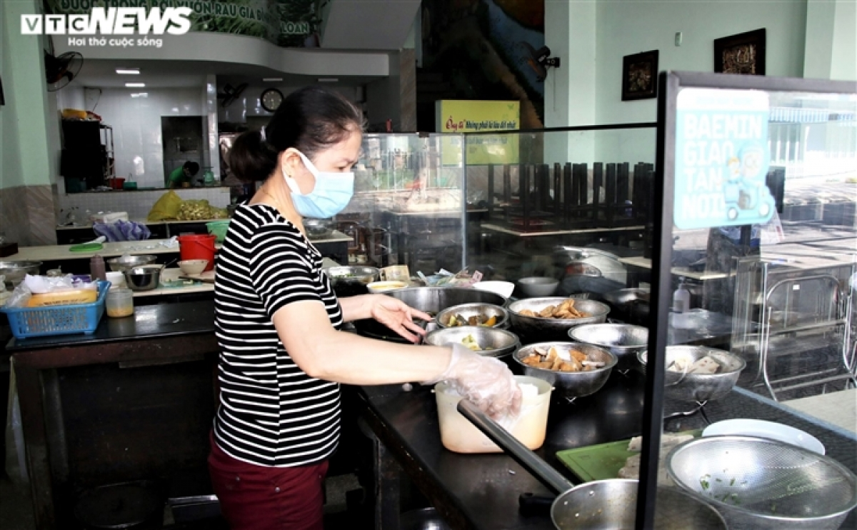 An eatery owner feels happy to reopen her business after being closed for over one month. The return of business activities will helps her to pay for her rent and improve the income of her family.