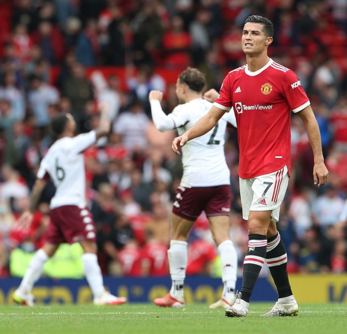 Nếu người sút phạt đền là Cristiano Ronaldo thì MU đã thoát thua? (Ảnh: Getty)