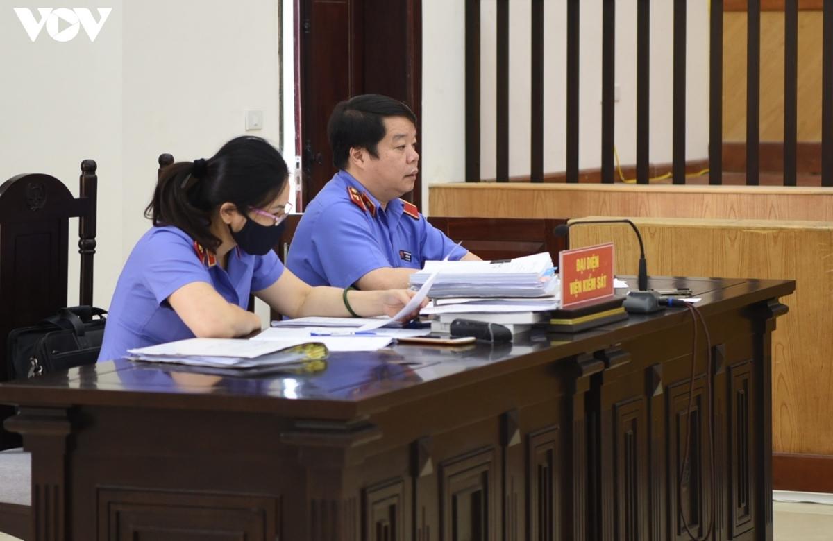 Đại diện Viện kiểm sát tại phiên tòa