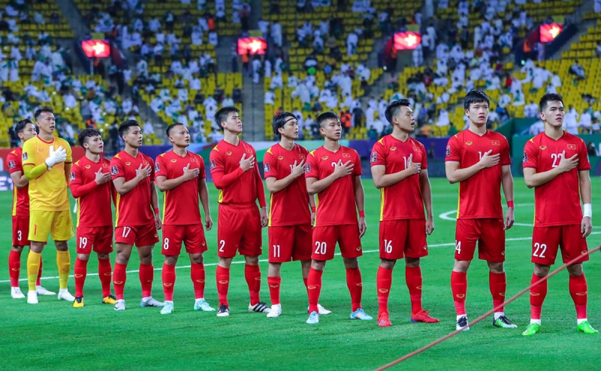 ĐT Việt Nam sẽ phải căng sức chiến đấu trên 2 mặt trận. (Ảnh: VFF)
