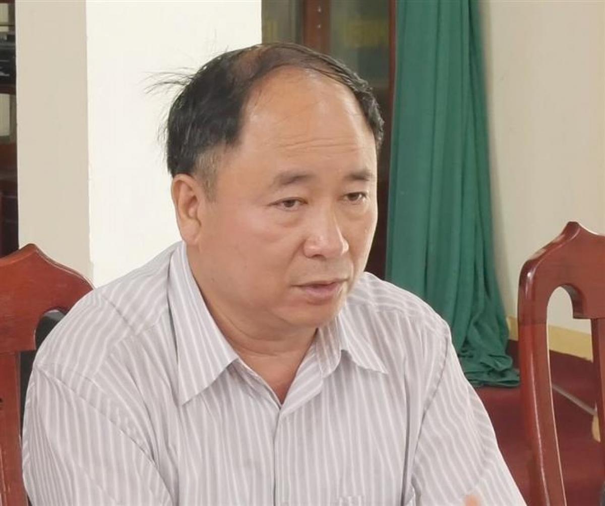 Phó Giám đốc sở Tài nguyên và Môi trường tỉnh Lạng Sơn Nguyễn Đình Duyệt bị kỷ luật cách chức. (Nguồn ảnh: TTXVN)