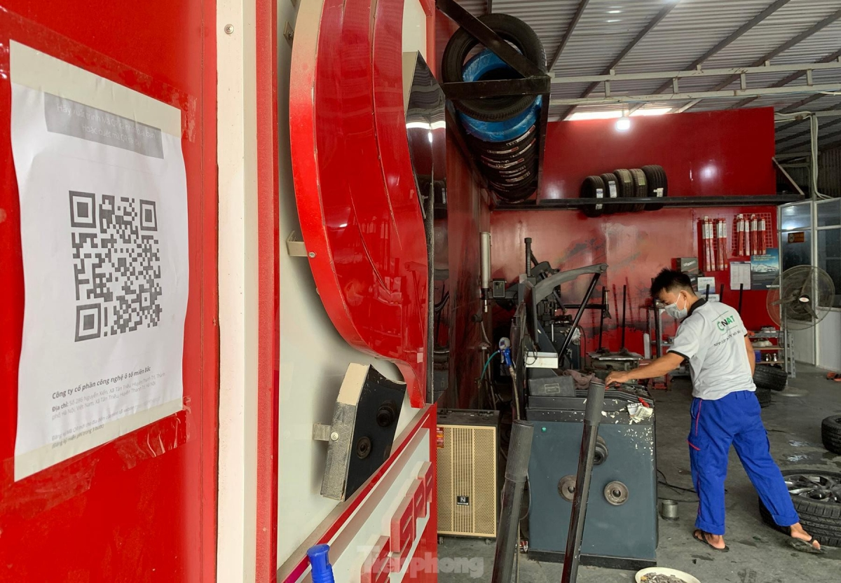 Businesses have different QR codes, therefore serving for contact tracing if necessary.