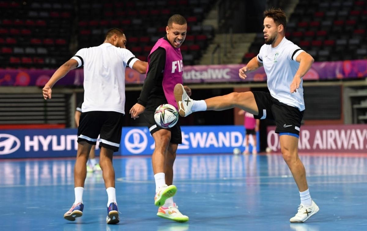 ĐT Futsal Brazil sở hữu những ngôi sao hàng đầu trong làng Futsal thế giới. (Ảnh: Getty).
