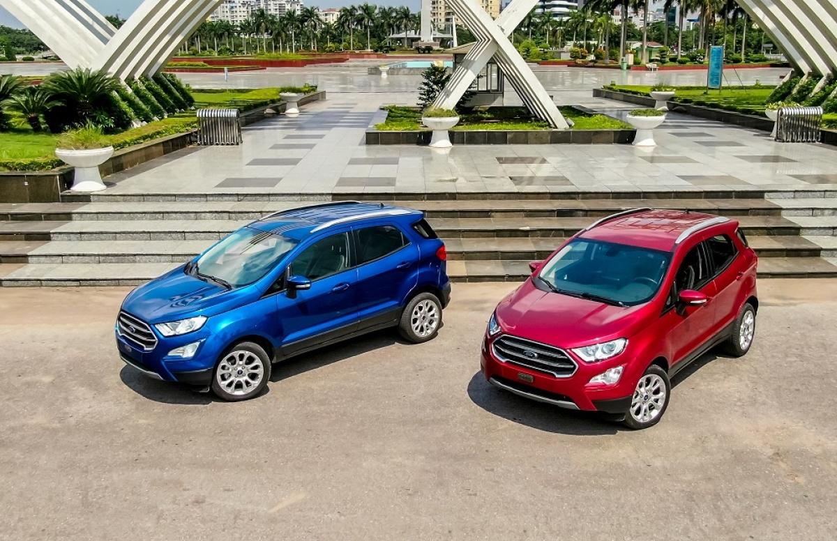 Ford EcoSport bị triệu hồi tại Việt Nam.
