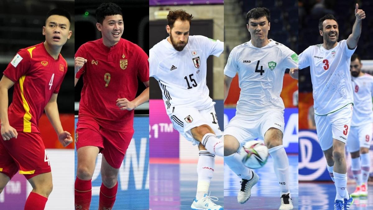 3/5 đại diện của bóng đá châu Á đã chia tay Futsal World Cup 2021. (Ảnh: AFC)