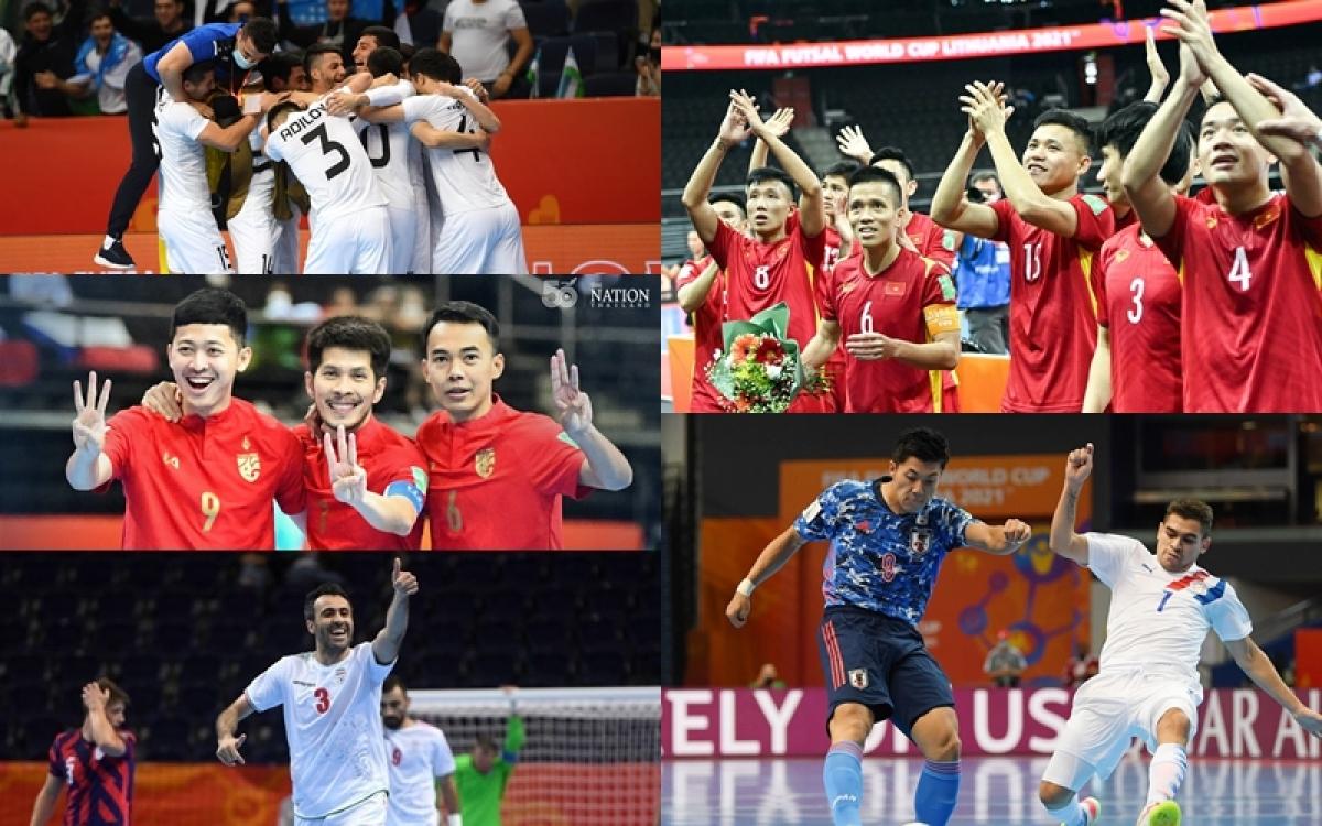 Cả 5 đại diện của bóng đá châu Á đều lọt vào vòng 1/8 World Cup 2021