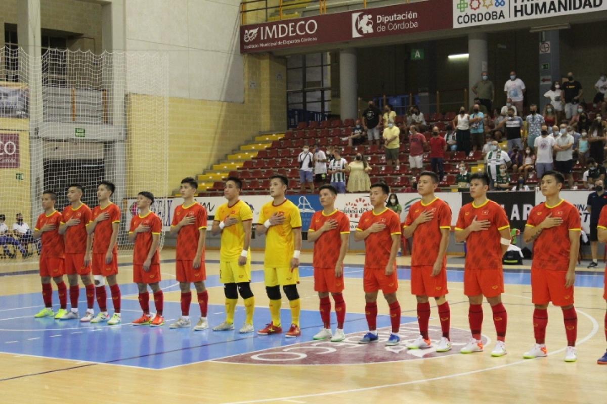Vietnam take on Spanish side Cordoba in a friendly match on September 4.