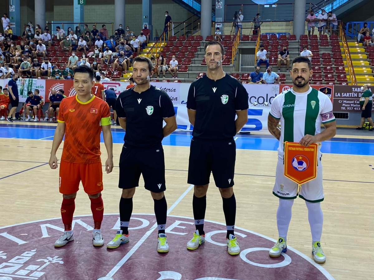 This marks the national futsal team's final match in Spain before they fly to Lithuania forthe2021FIFA Futsal World Cup.