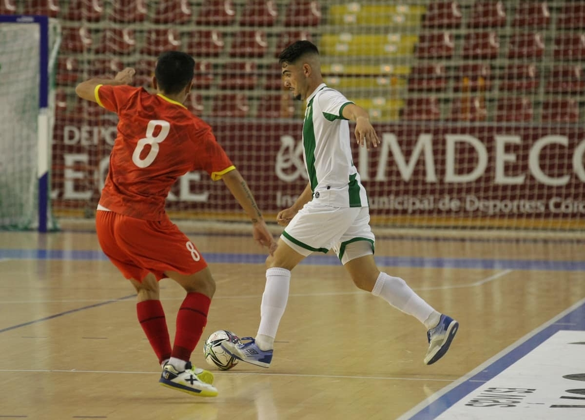 After bringing the score back to 1-1, Cordoba dominate much of the game.