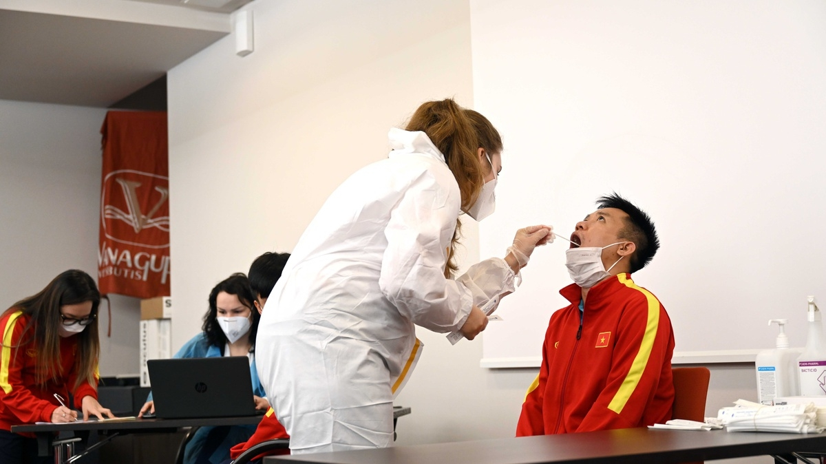 FIFA also deploys RT-PCR tests for all participants to ensure safety during the tournament. The entire Vietnamese team have been vaccinated and have already tested negative for COVID-19.