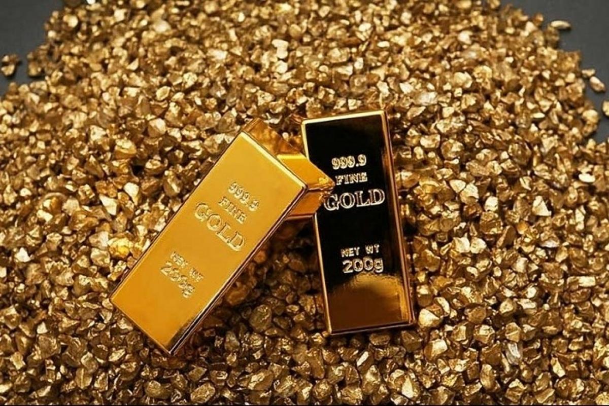 Giá vàng trong nước và thế giới đứng yên trong phiên giao dịch đầu tuần. (Ảnh minh họa: KT)