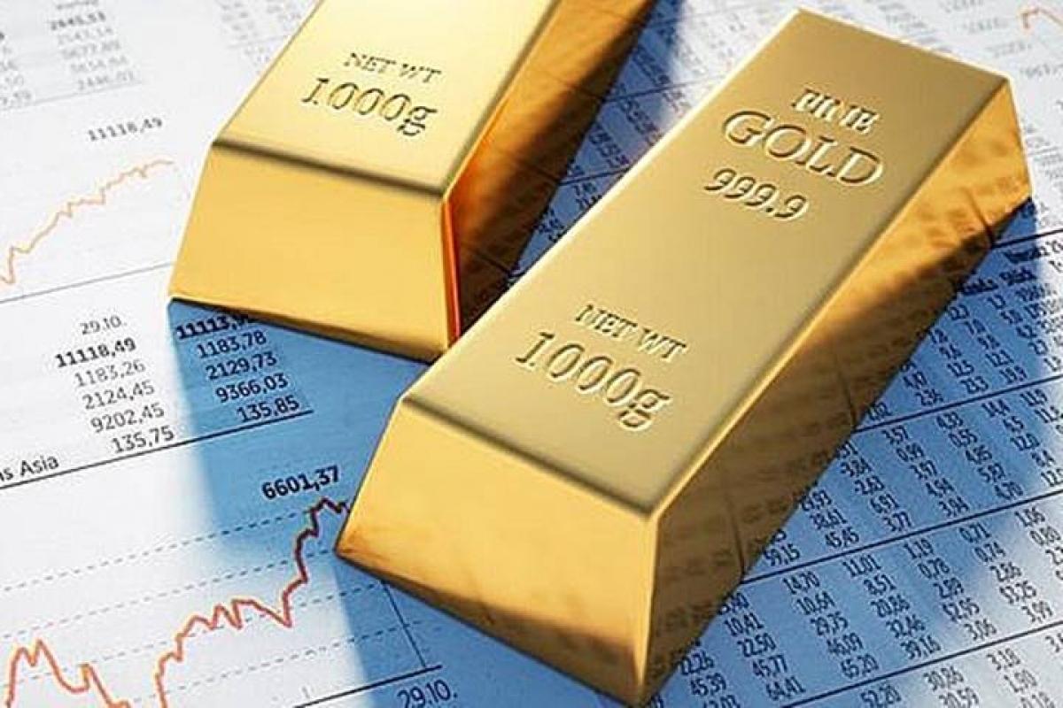 Giá vàng trong nước tăng ngược chiều với vàng thế giới. (Ảnh: KT)