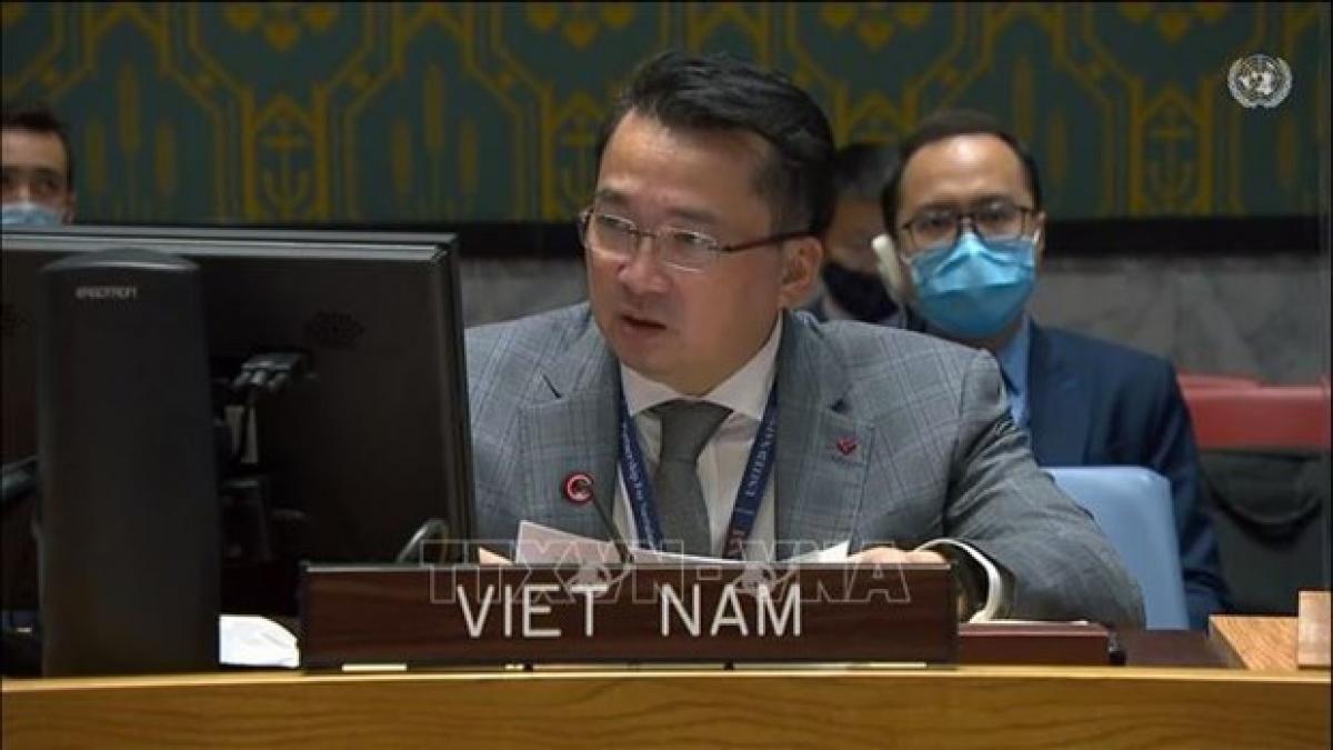 Ambassador Pham Hai Anh, Deputy Permanent Representative of Vietnam to the United Nations