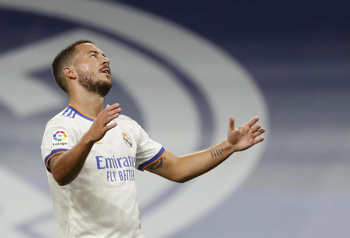 Eden Hazard thường xuyên chấn thương kể từ khi gia nhập Real Madrid năm 2019. (Ảnh: Reuters).