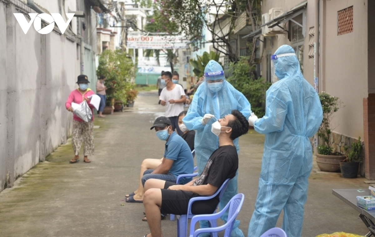 Testing is a key COVID-19 prevention and control measure in HCM City.