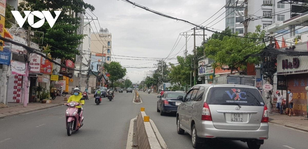 Similarly, Cu Chi district will also resume business and social activities from September 15.