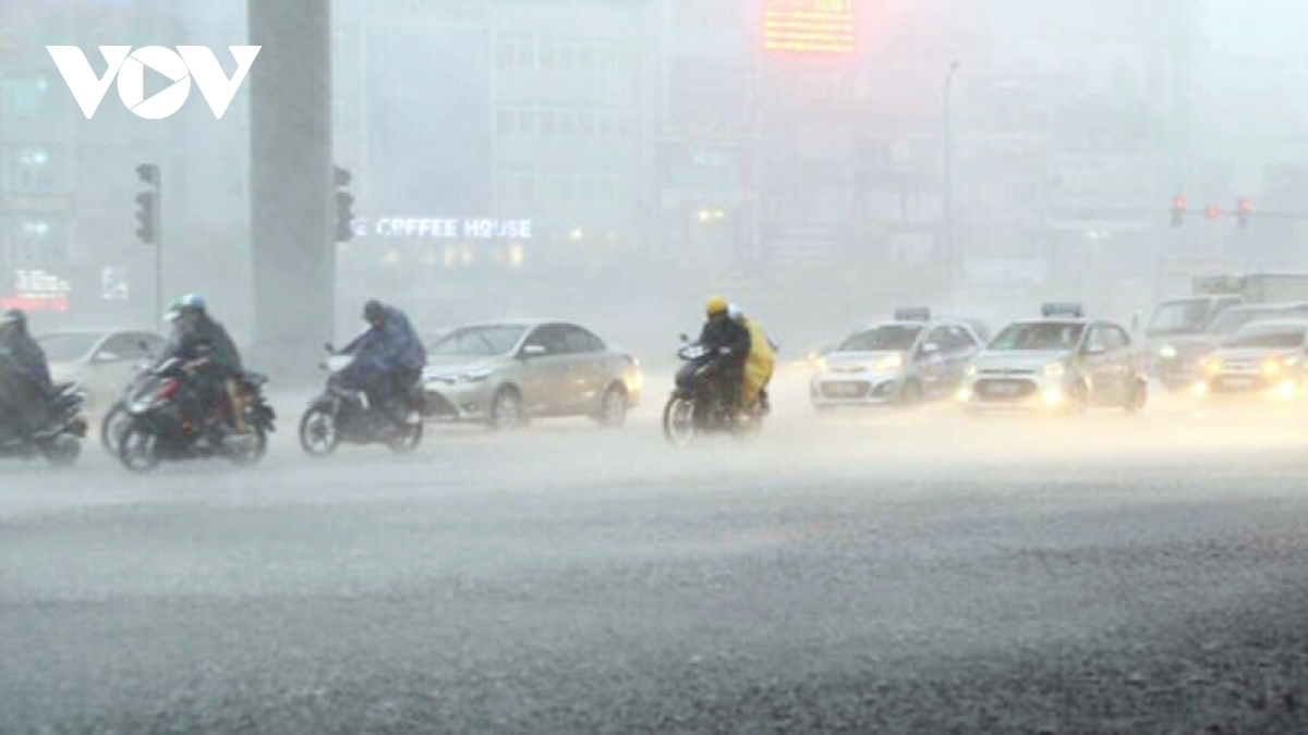 Heavy rain is expected to beat northern provinces of Vietnam this weekend.