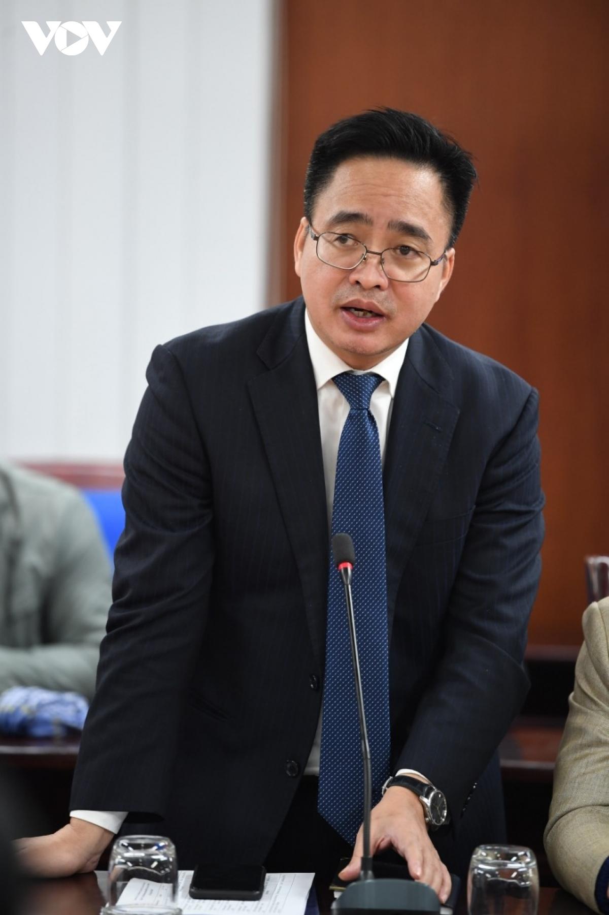 Phó Tổng Giám đốc VOV Phạm Mạnh Hùng.