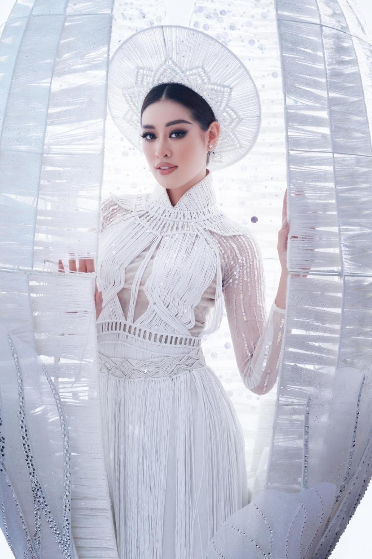 Khanh Van is named among the Top 20 of Miss Grand Slam 2020.