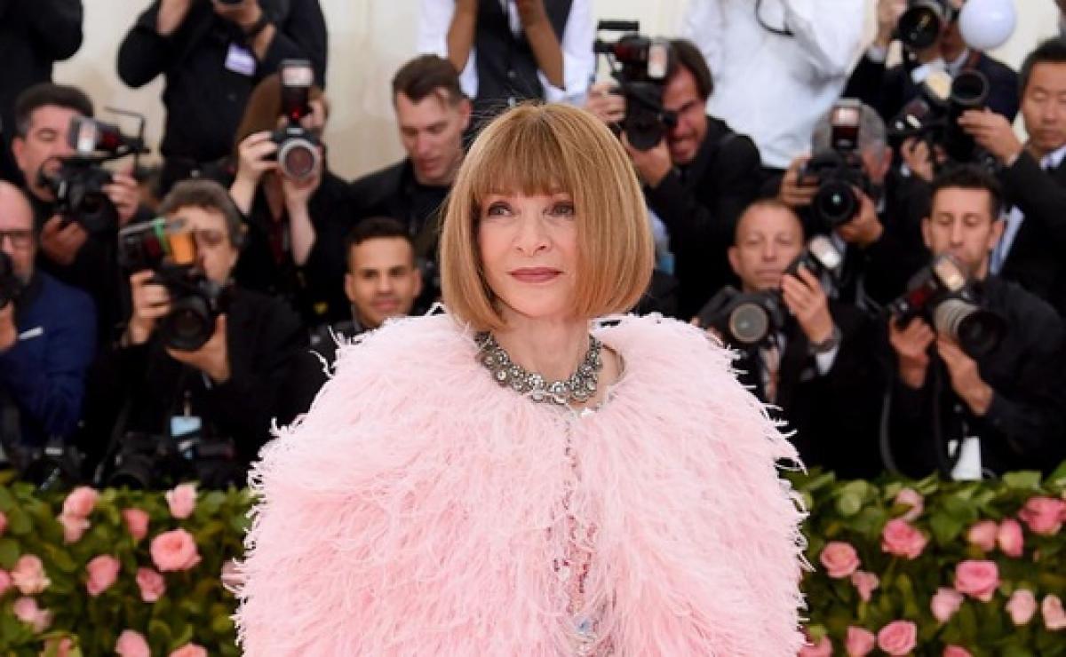 Tổng biên tập Vogue, Anna Wintour.
