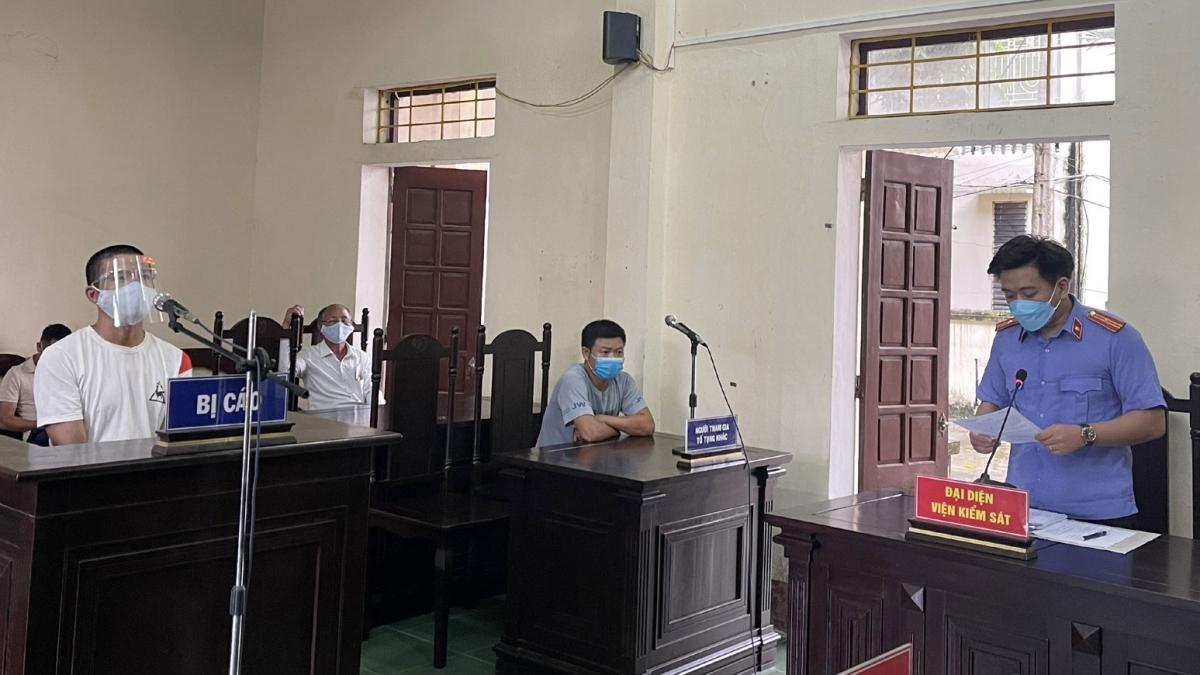 Bị cáo Nguyễn Văn Bắc tại tòa