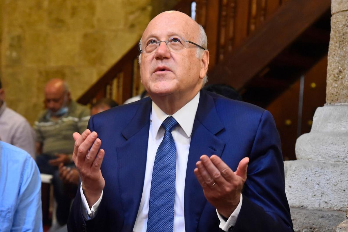 Thủ tướng Lebanon Najib Mikati. Ảnh: Ahram
