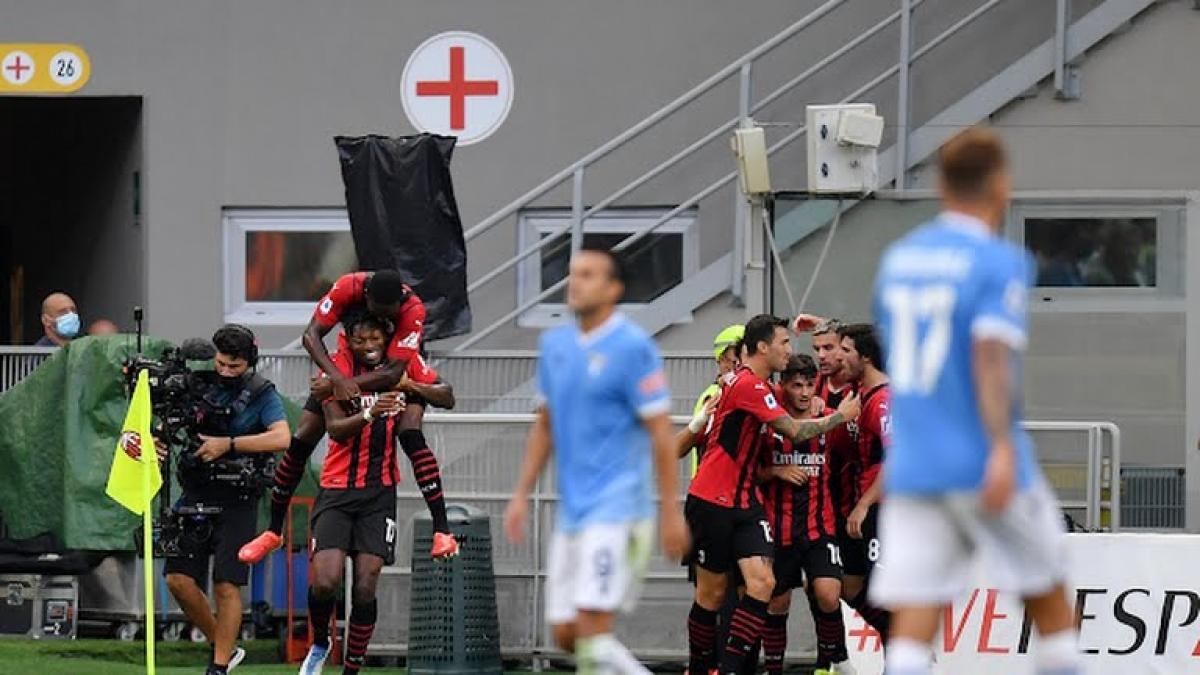 Kết quả bóng đá AC Milan đã giành chiến thắng với tỉ số 2-0 trước Lazio