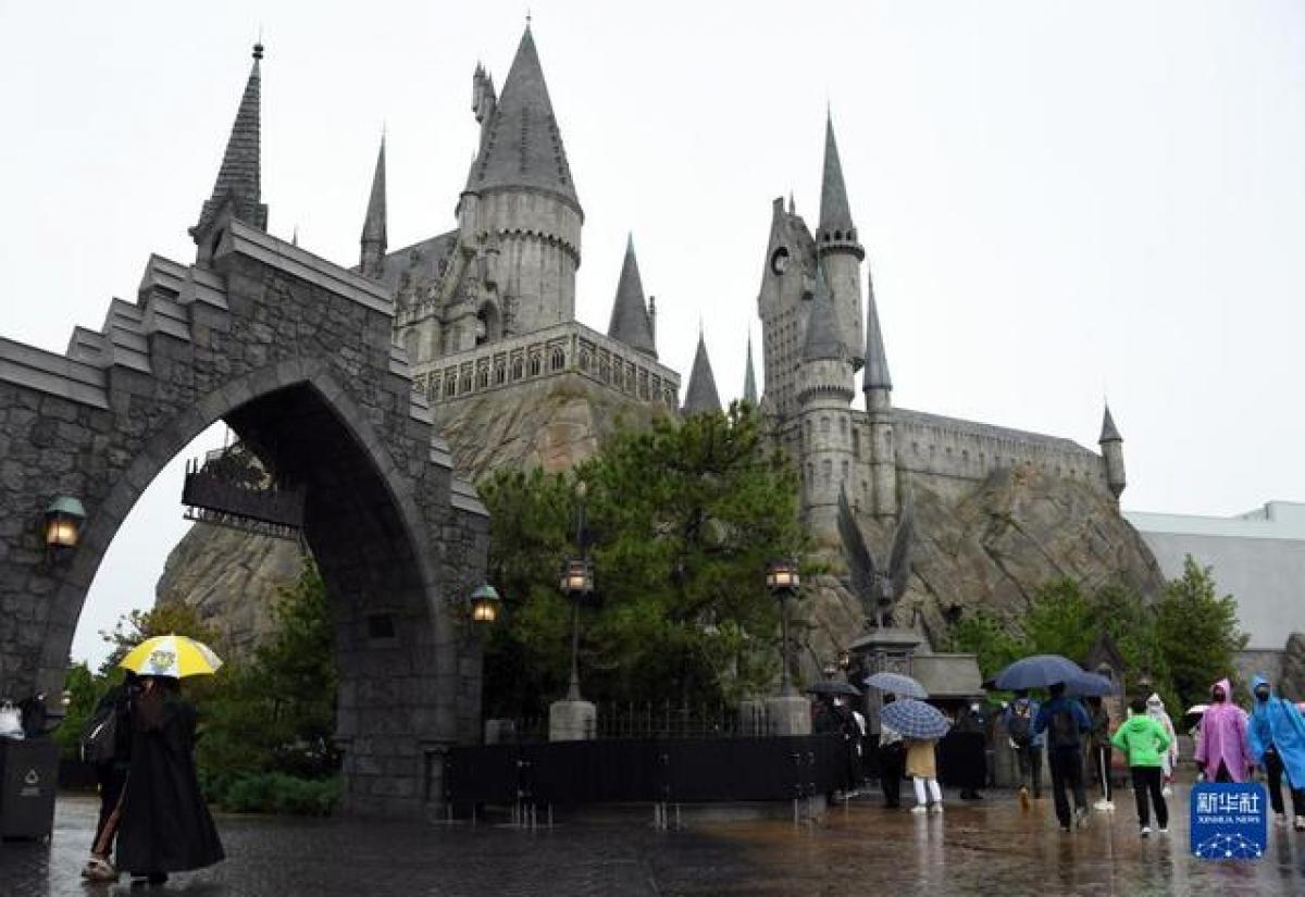 Khu vực thế giới ma thuật của Harry Potter. (Ảnh: Tân Hoa Xã)