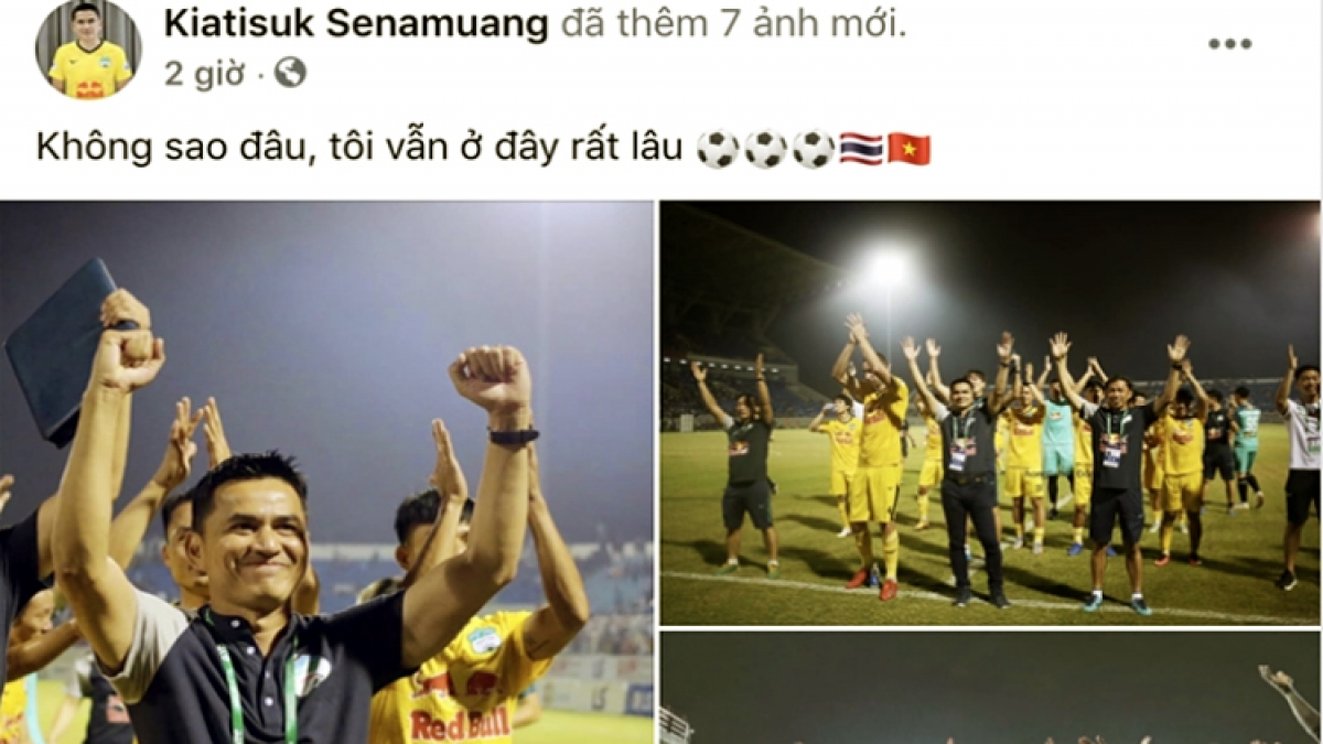 Kiatisak affirms he will stay long with HAGL FC