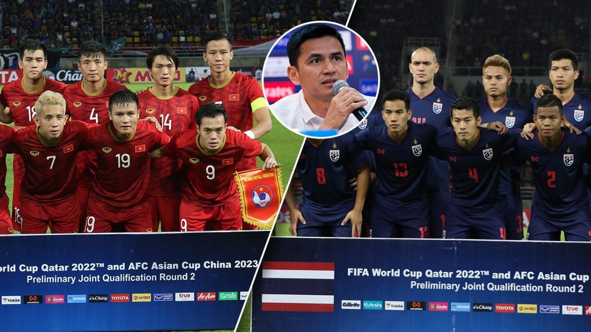 HLV Kiatisuk mong ĐT Việt Nam và Thái Lan gặp nhau ở chung kết AFF Cup. (Ảnh: ThaiRath)