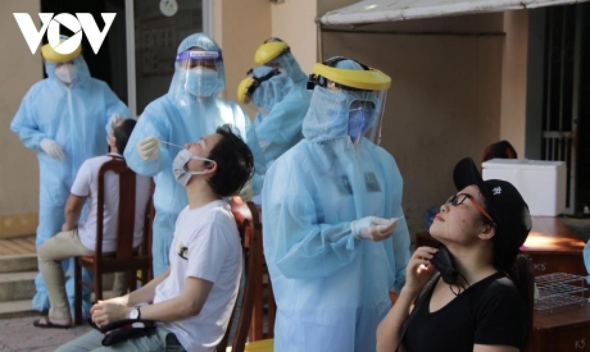 Bà Rịa - Vũng Tàu đã lấy mẫu xét nghiệm cho gần 900.000 người.